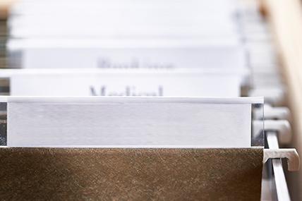 Imagem de processos em arquivo