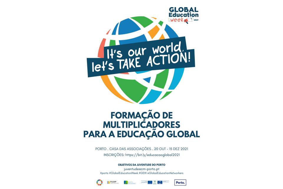 Semana da Educação Global 2021 Formação de Multiplicadores para a Educação Global