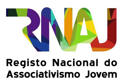Logótipo do Registo Nacional do Associativismo Jovem